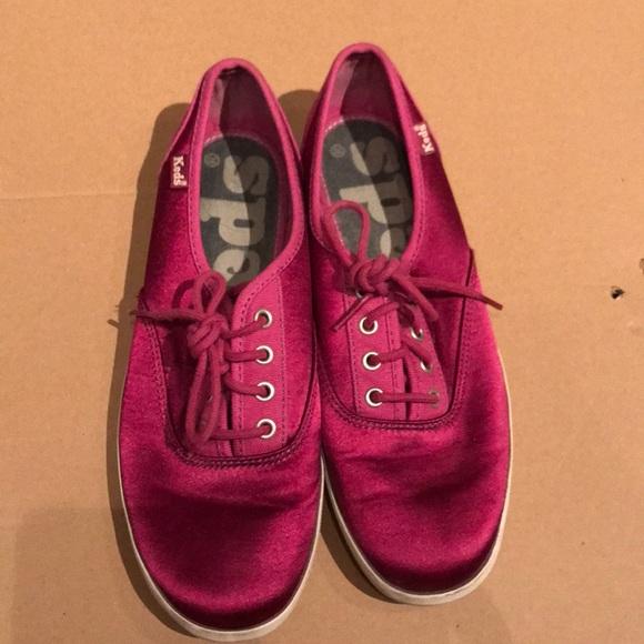 Keds Shoes - KEDS | Pink Satin 7.5